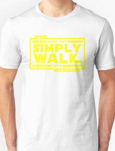 One Does Not Simply Walk T-Shirt