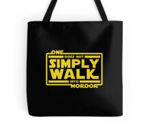 One Does Not Simply Walk Tote Bag