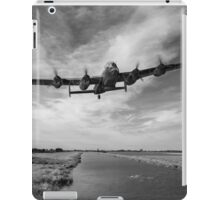 617 Squadron Dambusters training sortie B&W version iPad Case/Skin