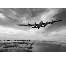 617 Squadron Dambusters training sortie B&W version Photographic Print