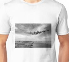 617 Squadron Dambusters training sortie B&W version Unisex T-Shirt