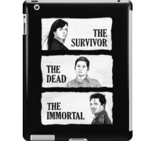 Torchwood - The Survivor, The Dead, The Immortal iPad Case/Skin