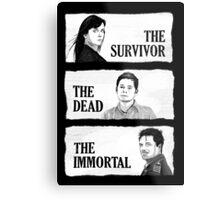 Torchwood - The Survivor, The Dead, The Immortal Metal Print