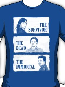 Torchwood - The Survivor, The Dead, The Immortal T-Shirt