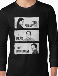Torchwood - The Survivor, The Dead, The Immortal Long Sleeve T-Shirt
