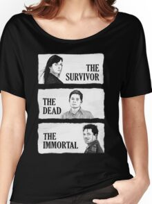 Torchwood - The Survivor, The Dead, The Immortal Women's Relaxed Fit T-Shirt