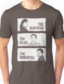 Torchwood - The Survivor, The Dead, The Immortal Unisex T-Shirt