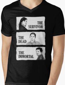 Torchwood - The Survivor, The Dead, The Immortal Mens V-Neck T-Shirt