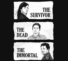 Torchwood - The Survivor, The Dead, The Immortal Unisex T-Shirt