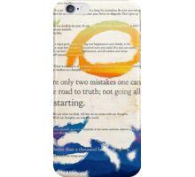 GUATAMA BUDDHA, art print, Buddha Quotes iPhone Case/Skin