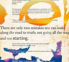 GUATAMA BUDDHA, art print, Buddha Quotes by Pranatheory