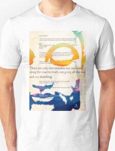 GUATAMA BUDDHA, art print, Buddha Quotes T-Shirt
