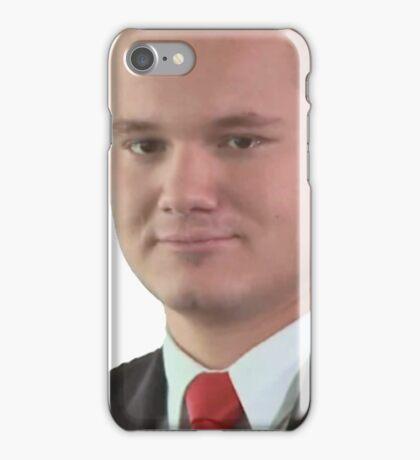 Office man iPhone Case/Skin
