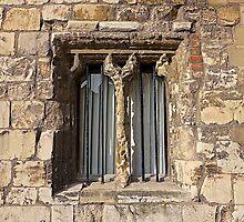 An Old Window by John (Mike)  Dobson