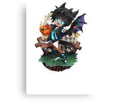Halloween Anime Canvas Print