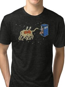 Wibbly Wobbly Noodley Woodley III Tri-blend T-Shirt
