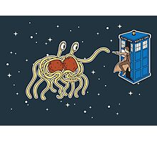 Wibbly Wobbly Noodley Woodley III Photographic Print