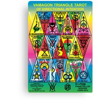 VAMAGON TRIANGLE TAROT CARDS T29 Canvas Print