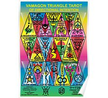 VAMAGON TRIANGLE TAROT CARDS T29 Poster