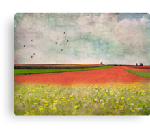 Splendor in the Grass Canvas Print