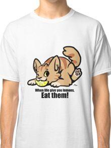 Lemon Cat Classic T-Shirt