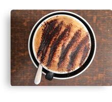 Cappuccino With Chocolate Canvas Print
