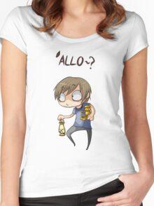 Pewdiepie 'Allo Women's Fitted Scoop T-Shirt