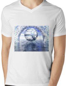 Ecce Mundus Mens V-Neck T-Shirt