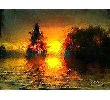 Sunrise at Frog's Lake Photographic Print