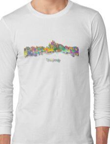 Beijing China Skyline Long Sleeve T-Shirt