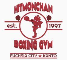 Hitmonchan Boxing Gym | Red Baby Tee