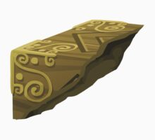 Glitch artifact mysterious cube piece1 Kids Tee