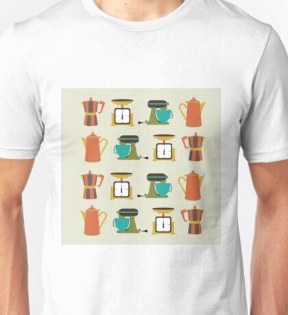 Mid Century Kitchen Appliances Unisex T-Shirt