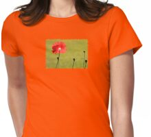 Standing Alone - JUSTART ©  Womens Fitted T-Shirt