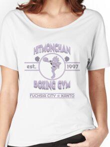 Hitmonchan Boxing Gym | Purple Women's Relaxed Fit T-Shirt