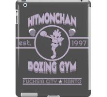 Hitmonchan Boxing Gym   Purple iPad Case/Skin