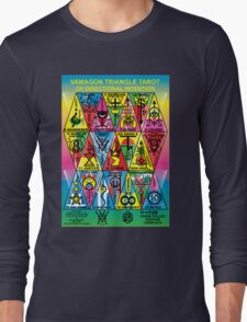 VAMAGON TRIANGLE TAROT CARDS T29 Long Sleeve T-Shirt