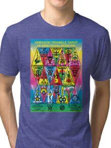 VAMAGON TRIANGLE TAROT CARDS T29 Tri-blend T-Shirt