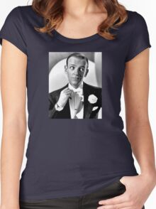 Fred Astaire Publicity Portrait Women's Fitted Scoop T-Shirt