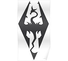 Dragon Icon Poster