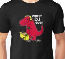 T Rex Is the WORST DJ Unisex T-Shirt