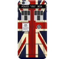 Union Jack TARDIS. iPhone Case/Skin