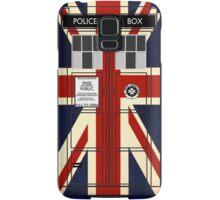 Union Jack TARDIS. Samsung Galaxy Case/Skin
