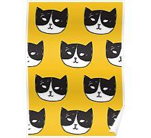 Bat Cat Poster