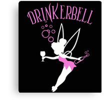 Drinkerbell pink color Canvas Print