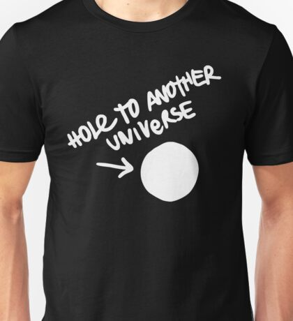 Hole to Another Universe New Design Unisex T-Shirt