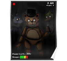 Five Night's at Freddy's - Freddy Fazbear Poster