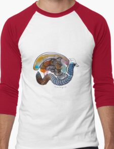 Interpretation #42 - The winged worm Men's Baseball ¾ T-Shirt