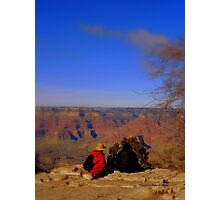 Watching the Grand Canyon Photographic Print