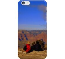 Watching the Grand Canyon iPhone Case/Skin